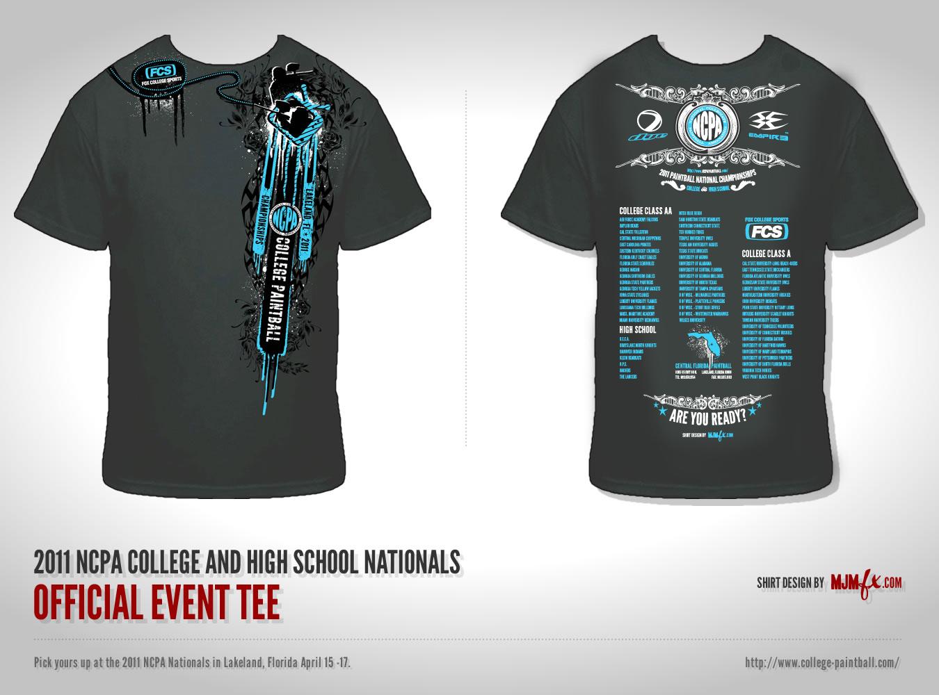 2011 National Championships T-Shirt