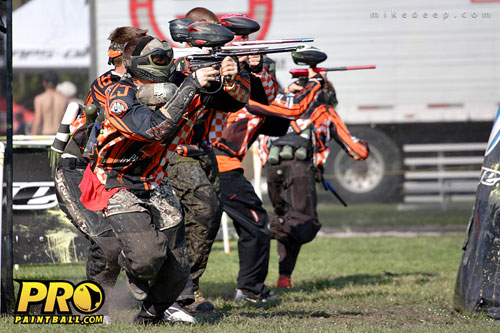 College Paintball: University of Tennessee Volunteers