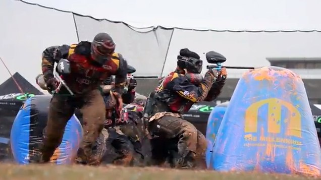 Cassidy Sanders Paintball Video