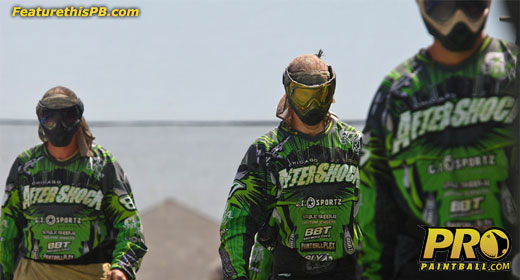 Pro Paintball team: Chicago Aftershock