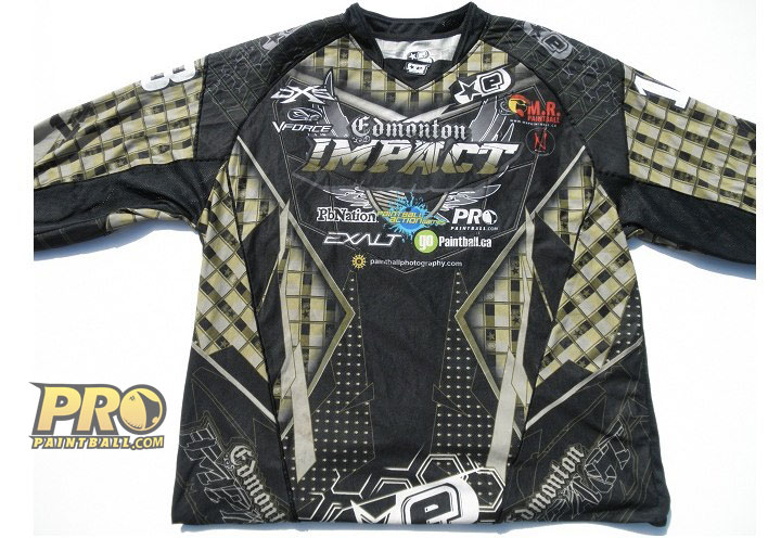 New Paintball Jersey: Edmonton Impact