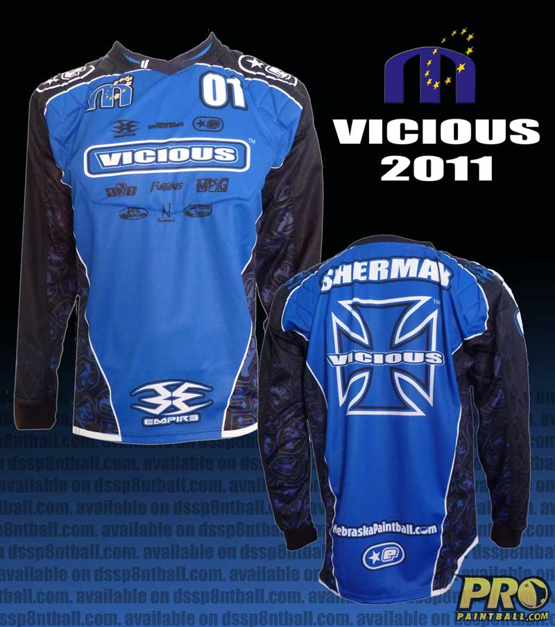 Pro Paintball team: Omaha VICIOUS