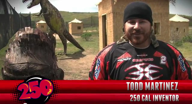 250 Cal Paintball with Todd Martinez