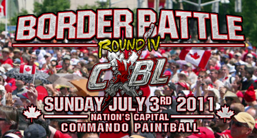 CXBL Paintball Event - Border Battle