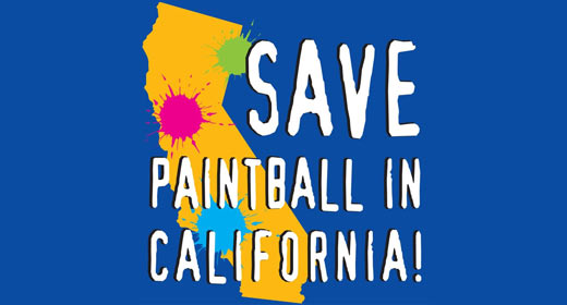 Save Paintball in California