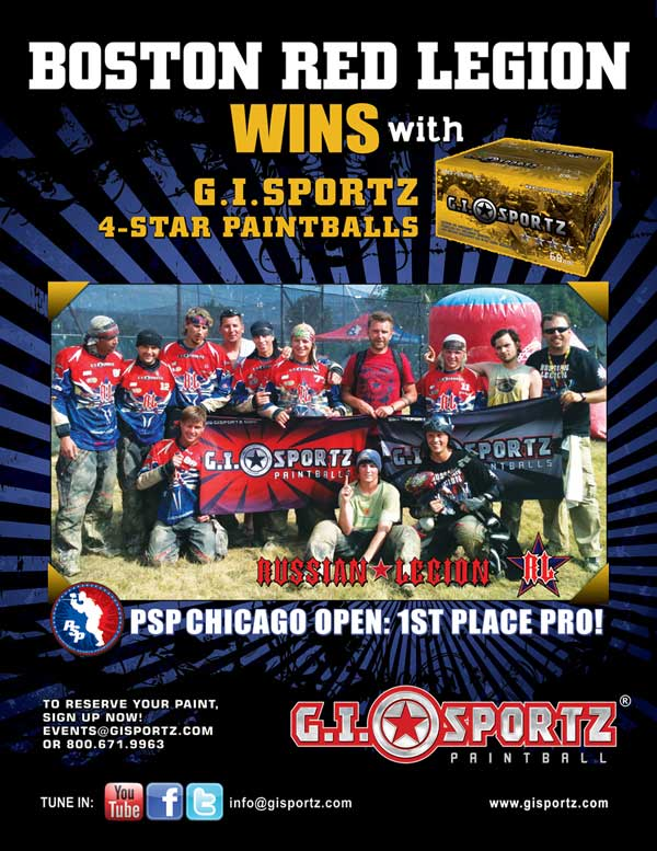 Free Paintballs with GI Sports