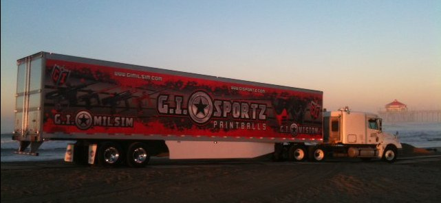 GI Sports Paintball Truck