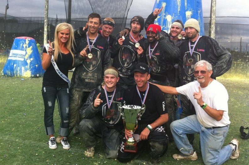 Pro Paintball team Chicago Legend wins NPPL DC