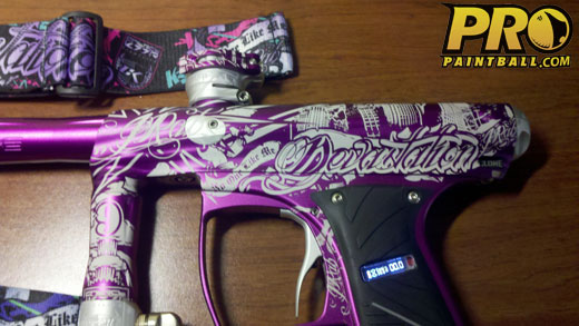 New Paintball Gear: Devastation by Justin Rabackoff