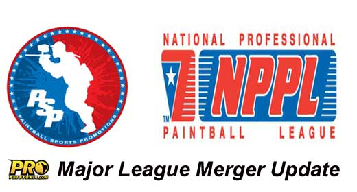 PSP NPPL Paintball League Merger Update