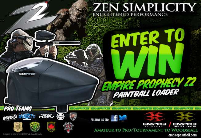 Win Free Paintball Gear from Empire Paintball