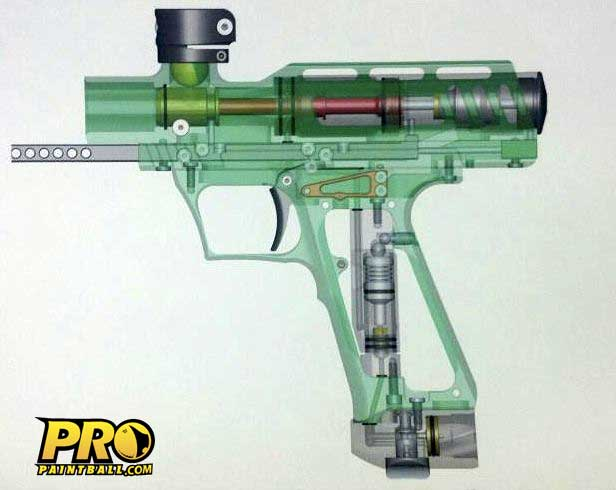 Marq Victory Pump Paintball Gun