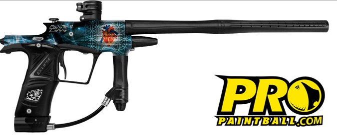 New Paintball Gun from Ollie Lang