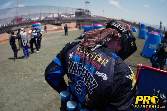 Pro paintball Todd Martinez Dynasty