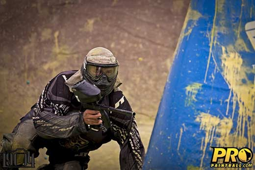 Ryan Martin of Pro Paintball team Sacramento XSV