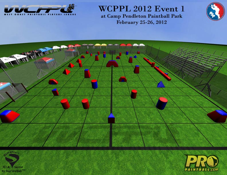 West Coast Paintball Players League Field Layout 1, Breakout