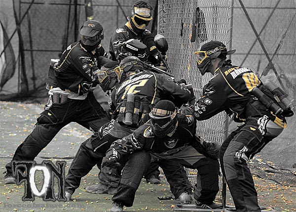Pro paintball team XSV NRG ready to breakout