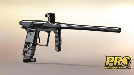 The Proton, a new paintball gun from Valken